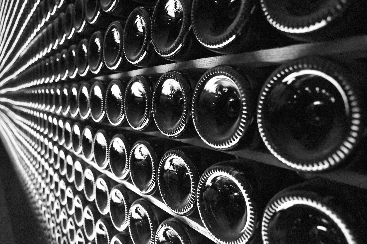 Infinite Bottle Celler Cave Black ArtWork