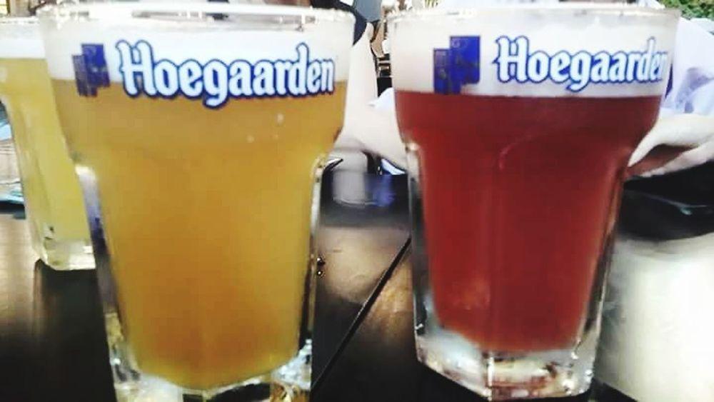 Hoegaardenbeer Beer Lovers Beerporn I ❤ Beer Beer Time Photooftheday EyeEm Gallery Hangout Hangoutwithfriends