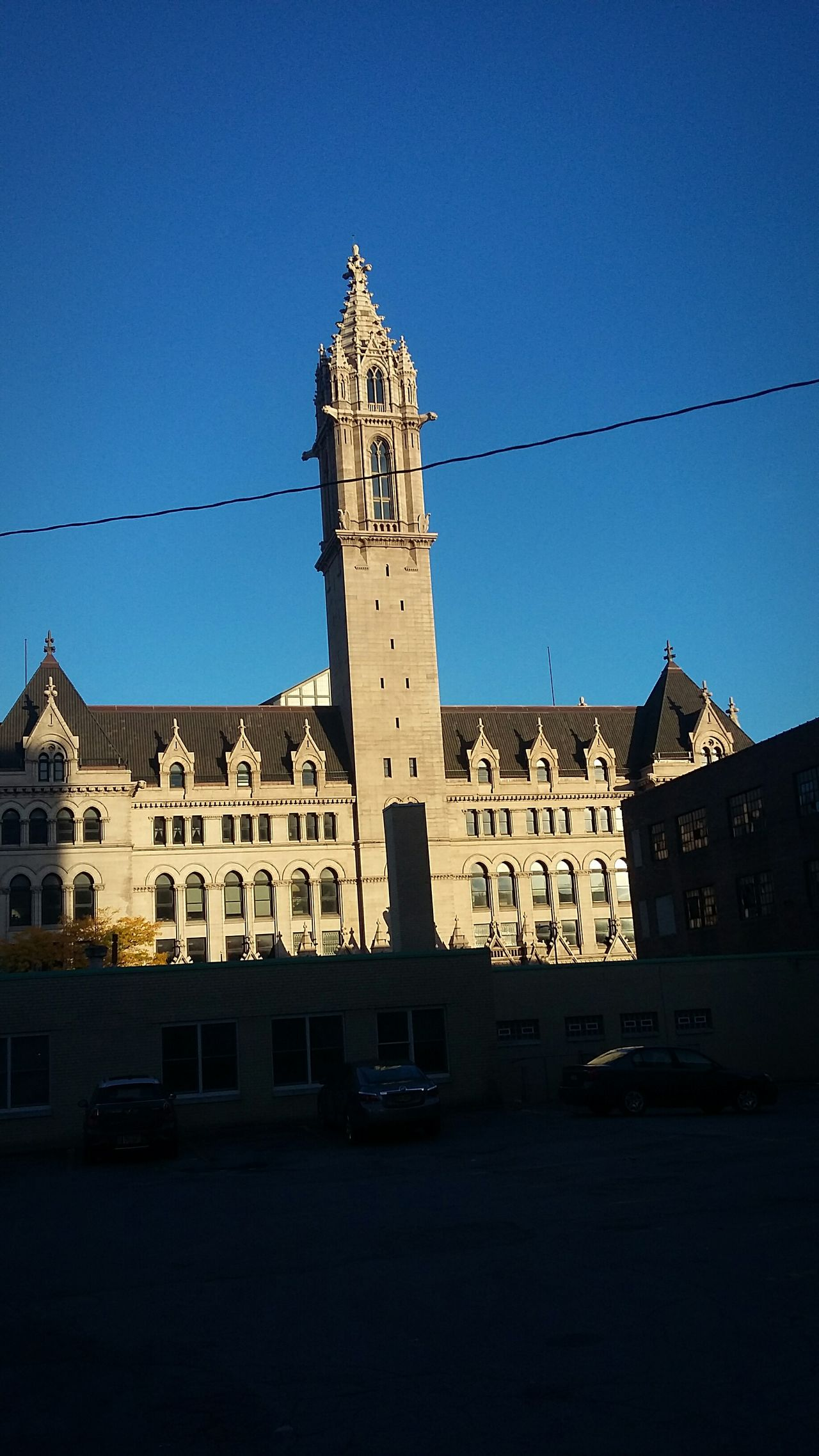 Buffalo,ny Architecture ECC City School Building Exterior