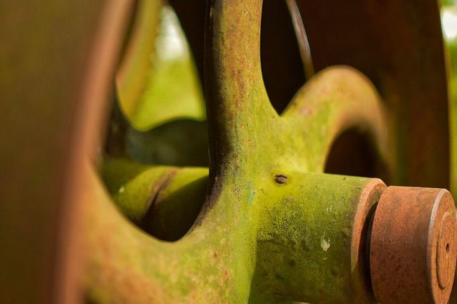 Machinery Machine Wheel Rust Rusty Industrial Close-up Close Up Closeup Old And Rusty Objects Machine Part Object Photography