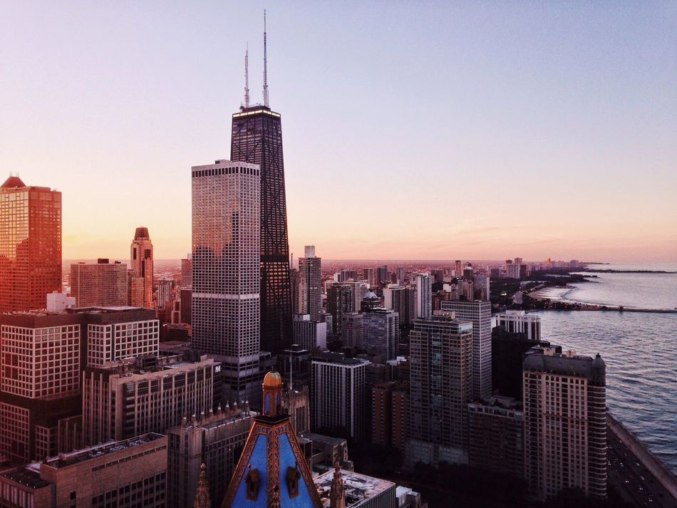Beautiful stock photos of chicago skyline, Architecture, Building Exterior, Built Structure, City