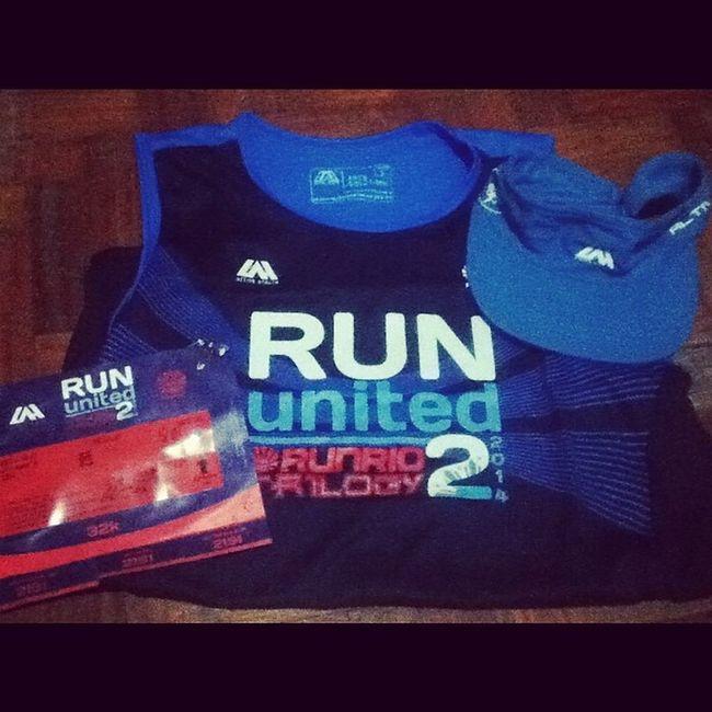 Received my race kit already! Wala ng atrasan to. First 32km run! 17 days to go. ? Runph Sbrph RunUnited2 Runrio roadtomarathon runner