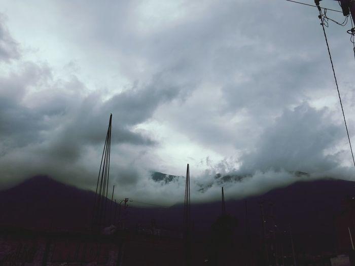 Cielo Huanuqueño. 8 am. Huanuco Peru Paisaje Sky And Clouds