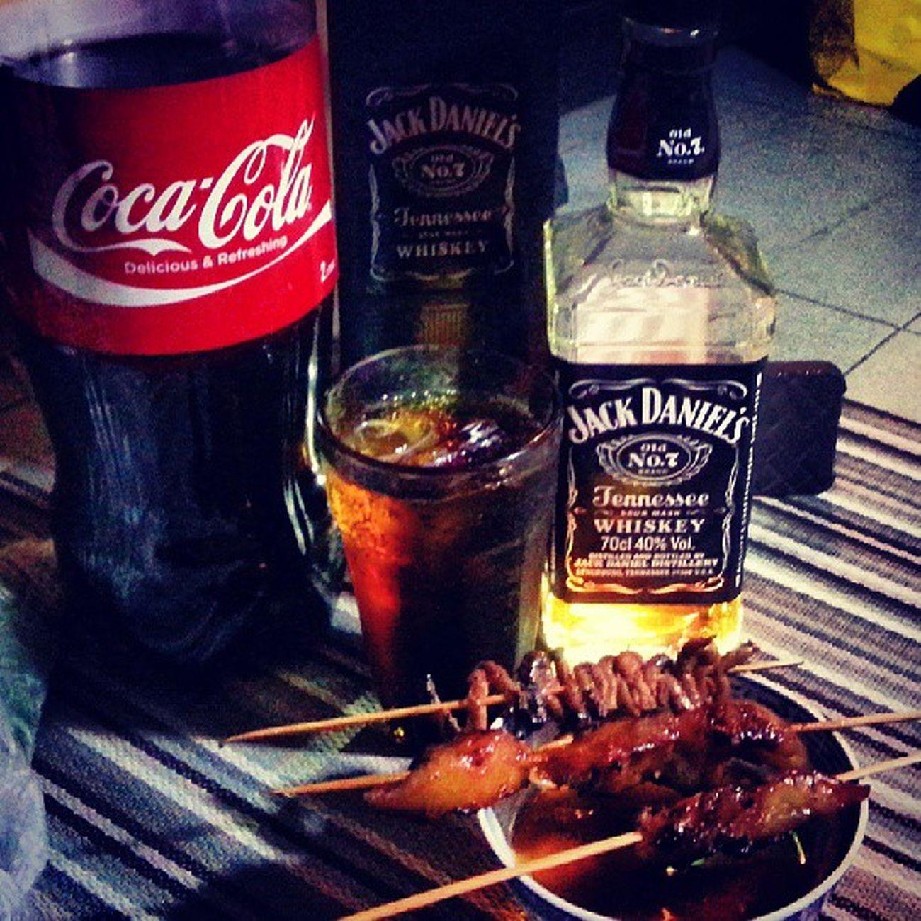 A jack cola kind of night. GBGMB GoodTimes a