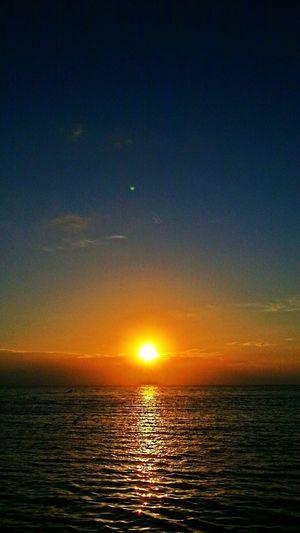 Sunset Enjoying The Sunset