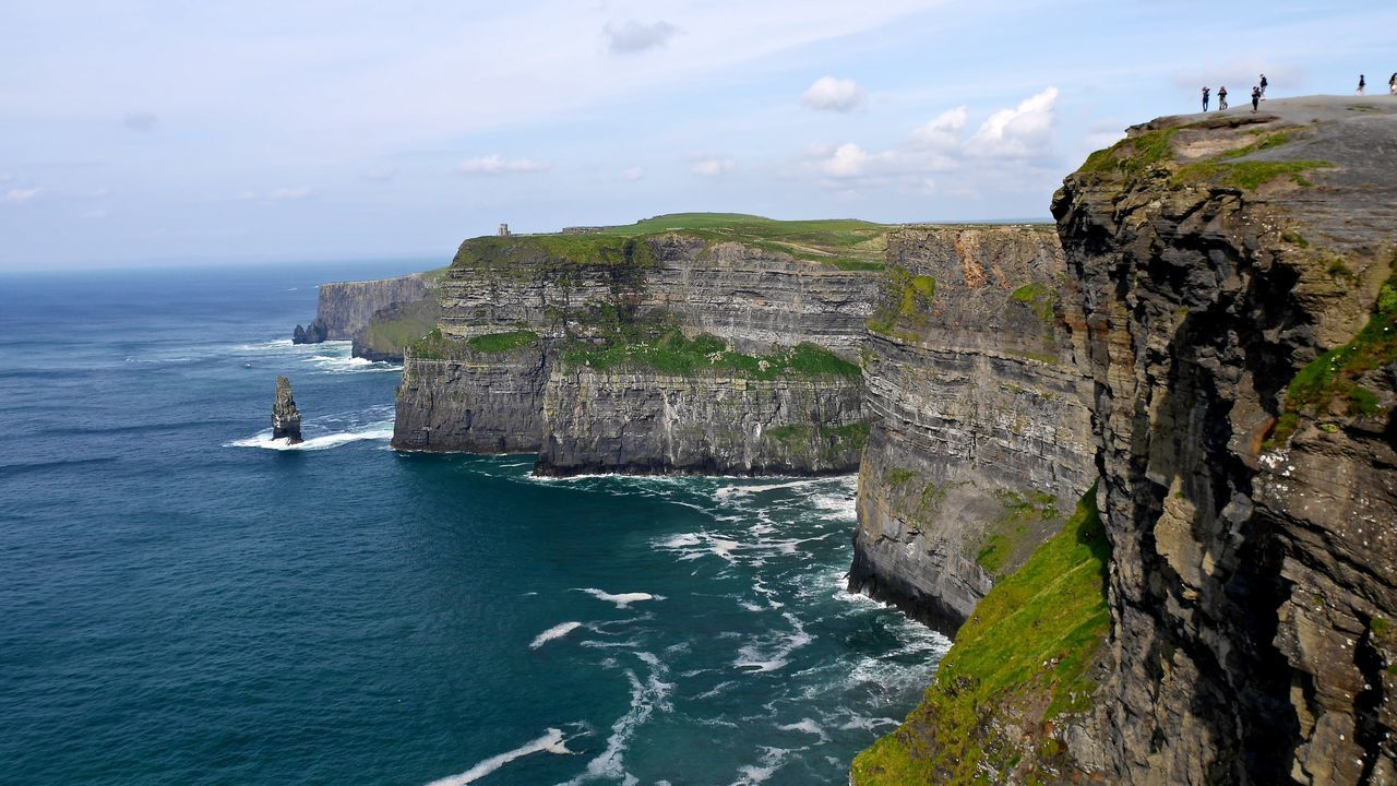 Beautiful stock photos of irland, Beauty In Nature, Cliffs Of Moher, Day, Horizon Over Water