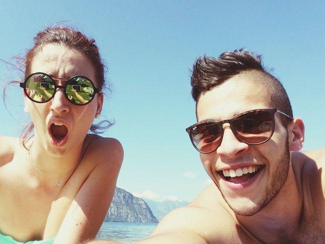 Enjoying The Sun Selfie Relaxing