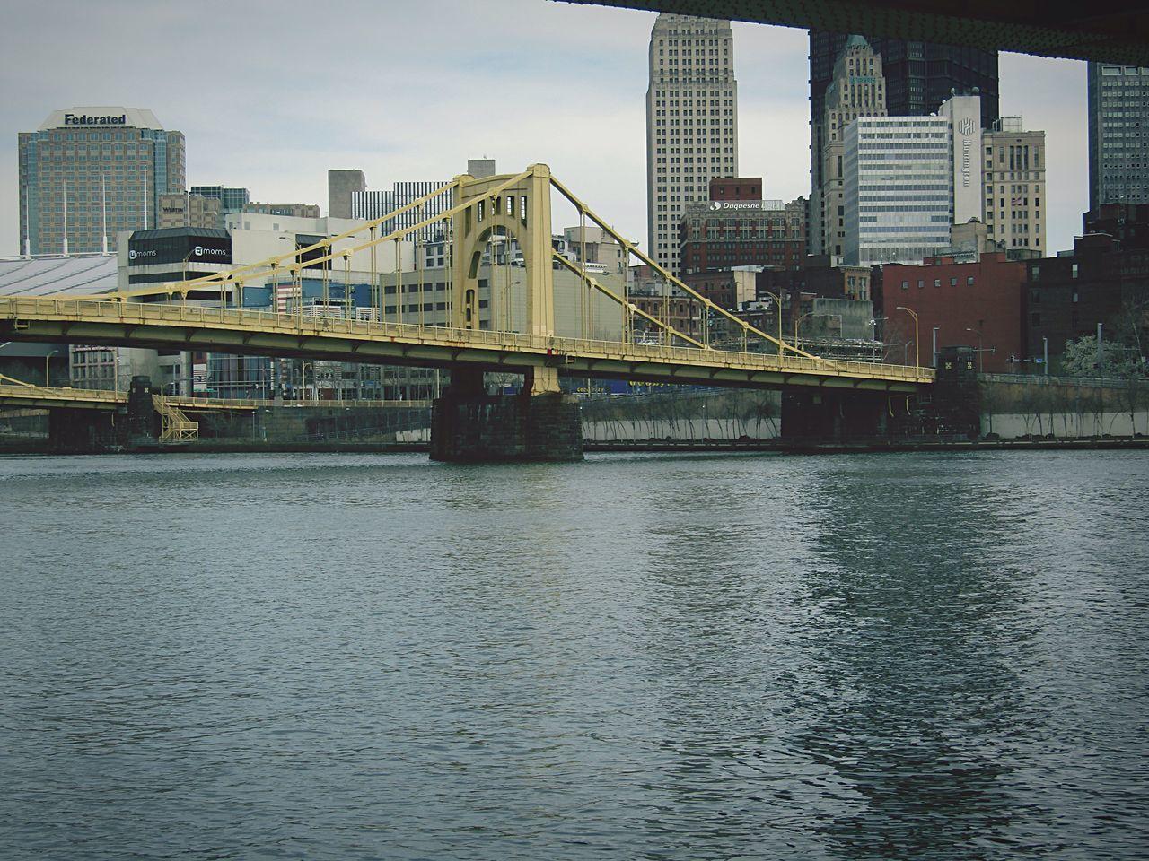 Andy Warhol Bridge Showcase April Pittsburgh Bridge River City Allegheny River
