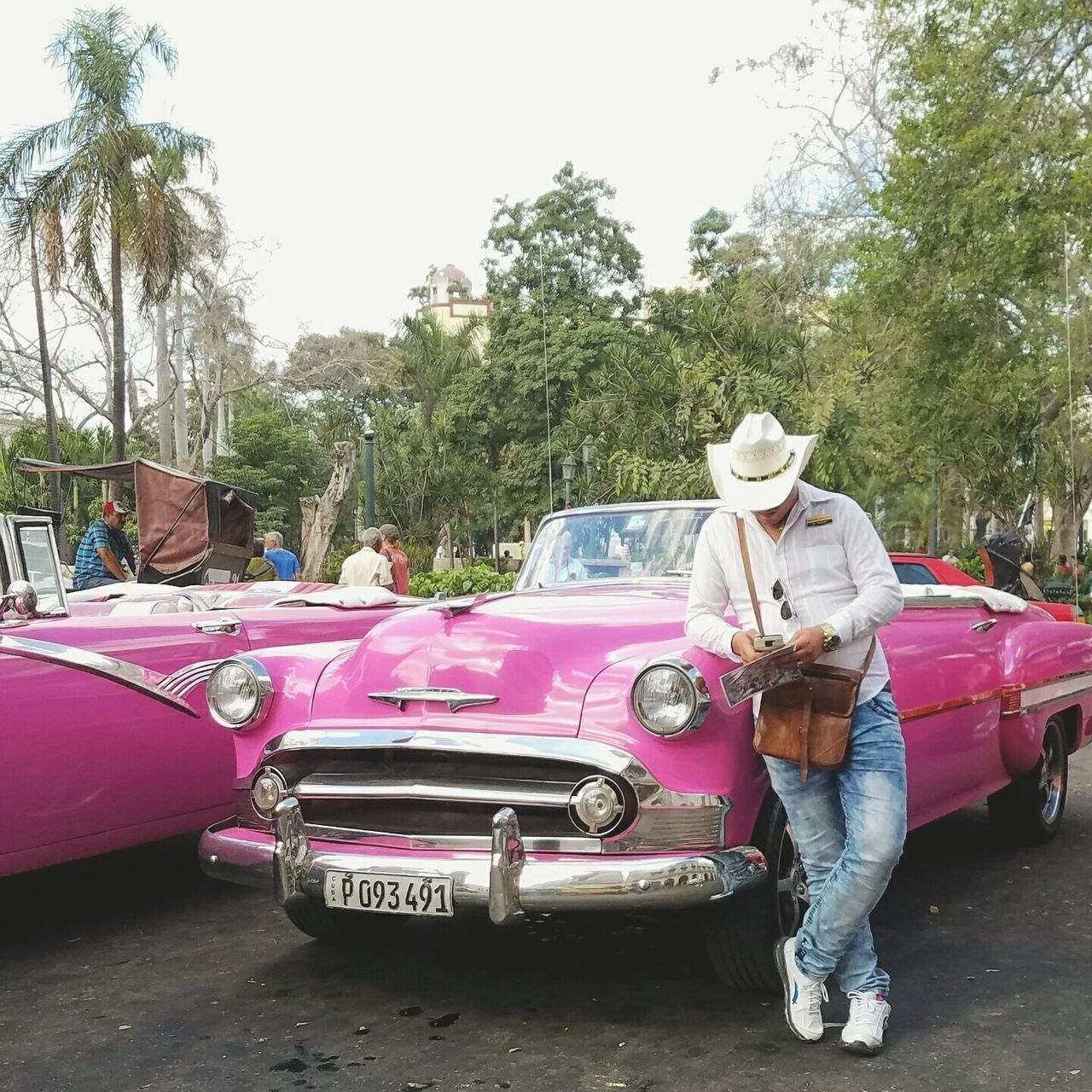 Cuba Car Transportation Old-fashioned Lifestyles Living In The Moment Beauty In Nature Fotogeniksyl Vintage❤ Classic Cuban Style Traveling Photography Streets Of Cuba Mode Of Transport People Portrait Pink Cuba Havana, Cuba Mature Adult The City Light