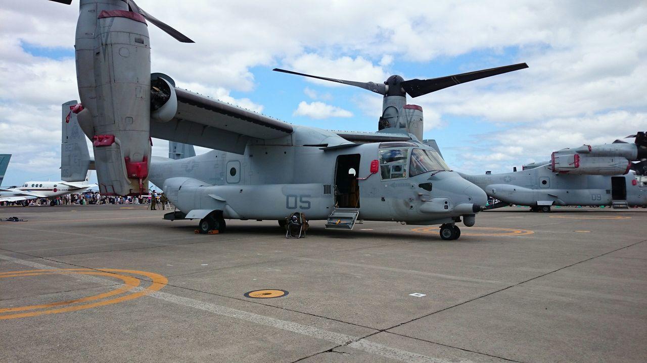 航空ページェント Airport Airshow USMC Marines MV-22 Osprey
