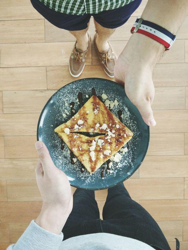 ShareTheMeal Bread Food And Drink Food Sharing A Moment Toast🍞 Toastbread