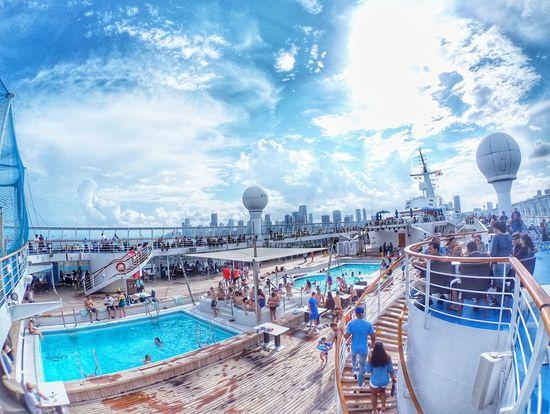Norwegian Sky Cruiseship Cruise Cruiseship Pool Cruise Liner Cruise Ship To Bahamas Norwegian Cruise Norwegian Sky First Eyeem Photo