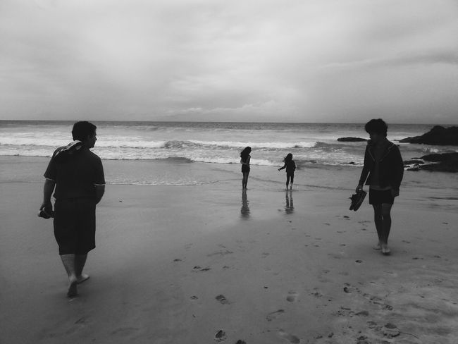 Wonderful to spend a day away from the big smoke, after a busy couple of months! What I Value Love My Family ❤ Beach Black And White Blessed
