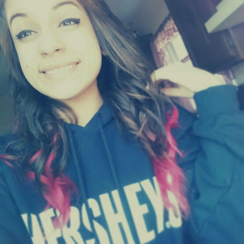 Smile Red Lazy Smiling Comfy  Curls Dip Dye  Curly Red Dye
