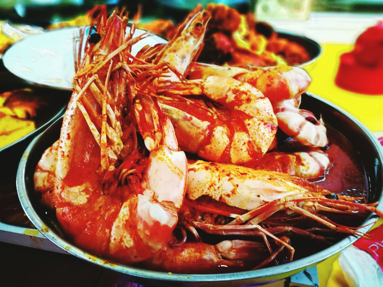 Seafood Close-up Food And Drink Prawn Freshness Crustacean No People Crab - Seafood Lobster Healthy Eating Claw Food Indoors  Day Kelantan Malaysia FishMarket