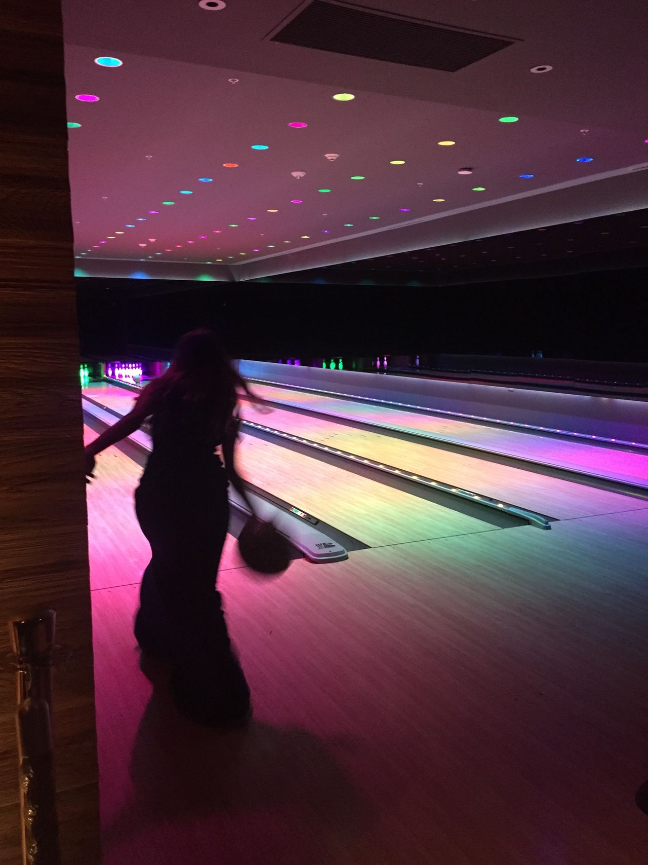 Beautiful stock photos of bowling, Blurred Motion, Bowling, Bowling Alley, Bowling Ball