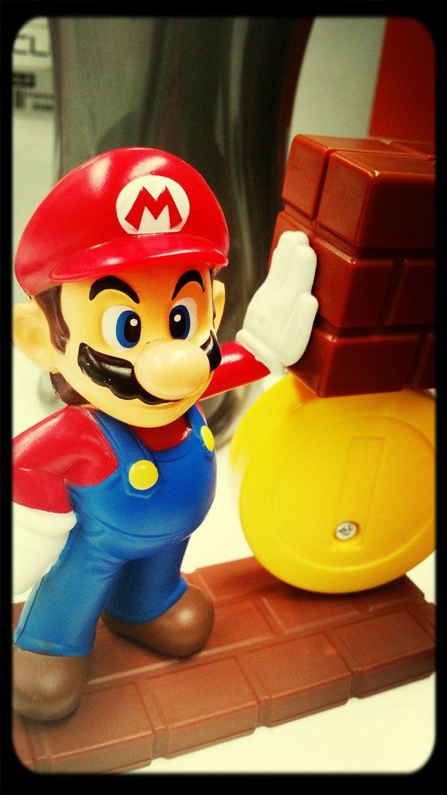 Enfeite de mesa ... Mario Bros Exploring