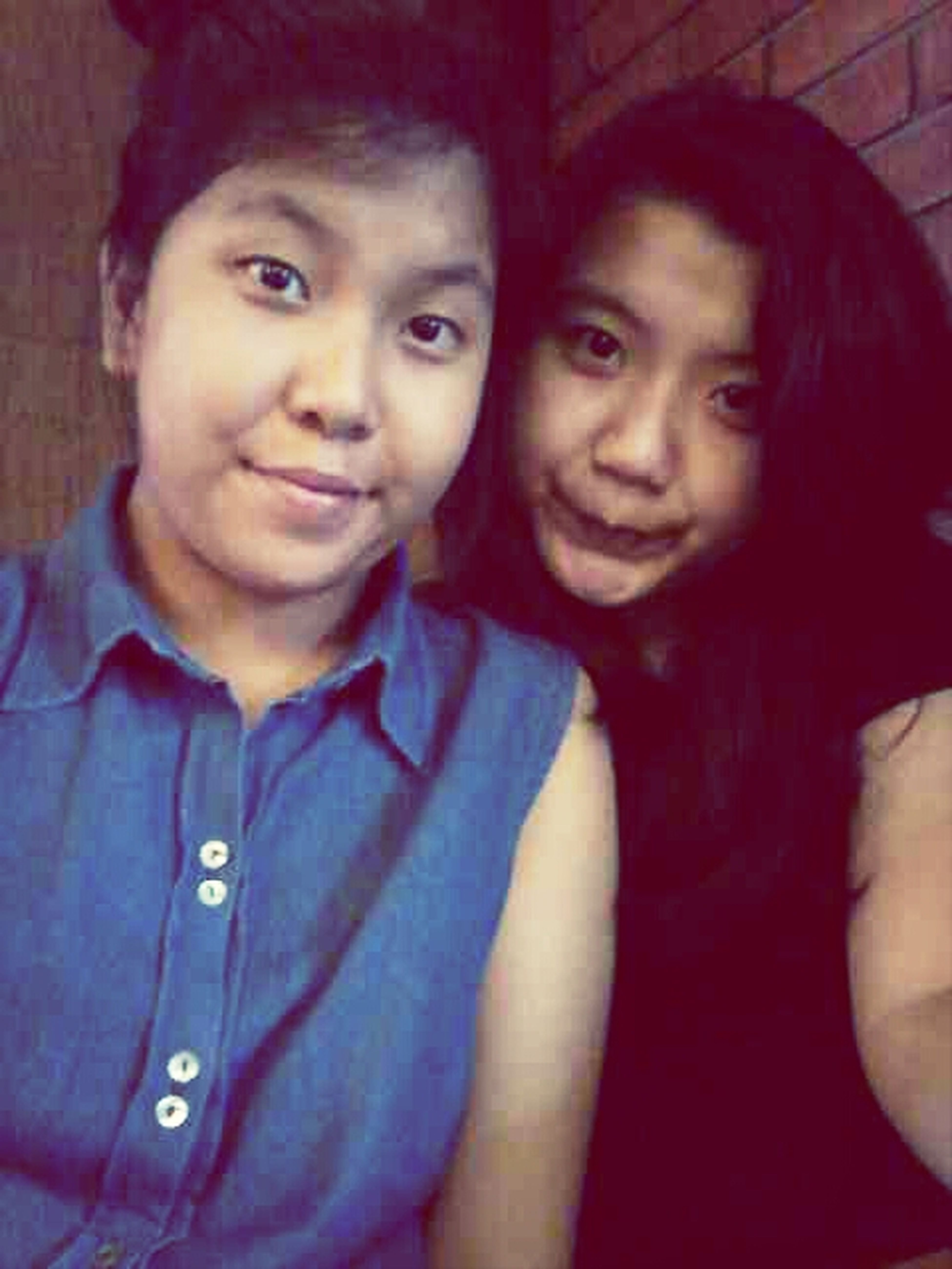 with my little sis