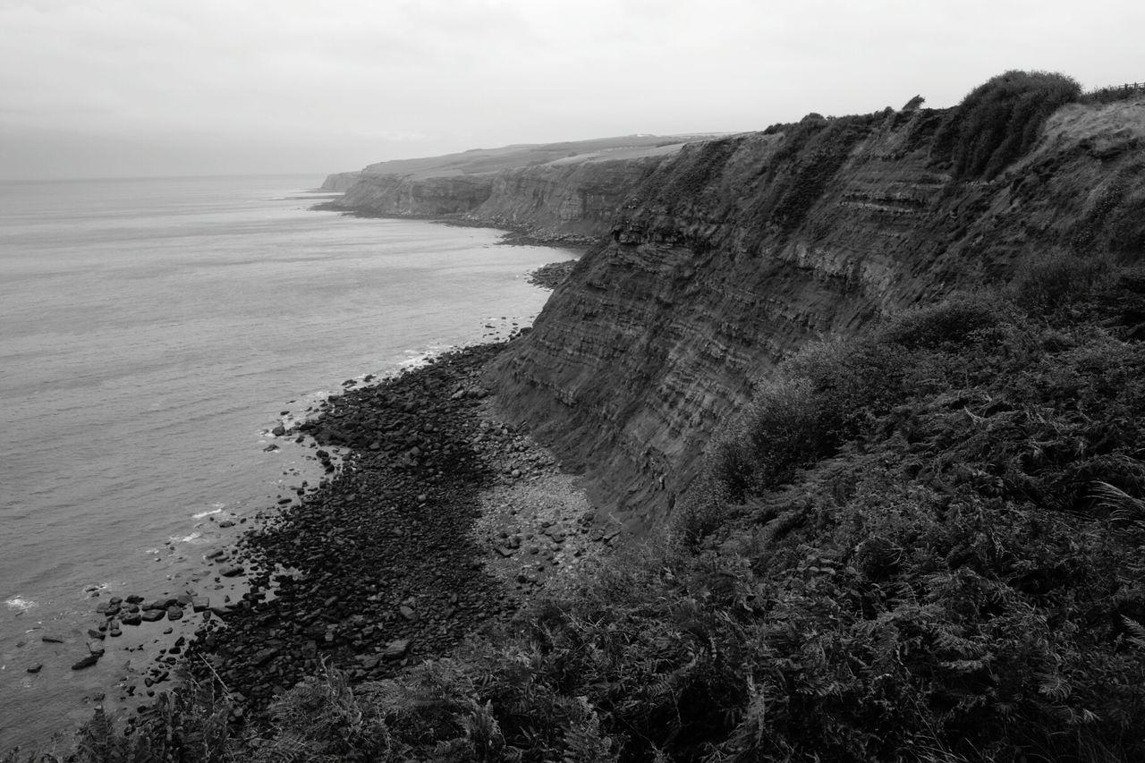 Sea Water Nature Outdoors Scenics Seascape Cliffs Coast Landscape Cliff View Coastline North Sea Cliff Edge Coastal Walk Shore Horizon Over Water View Yorkshire Coast