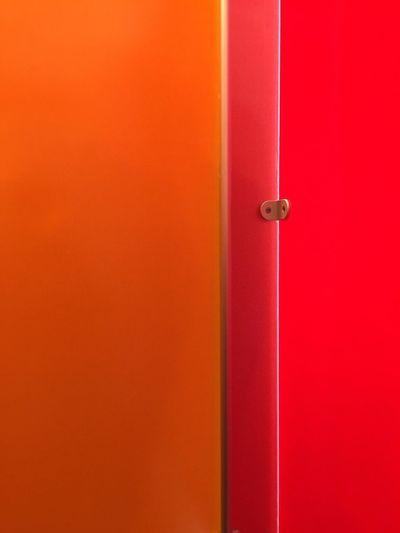 Minimalist architecture Door No People Close-up Indoors  Red Day Mobiography #architecture IPhone