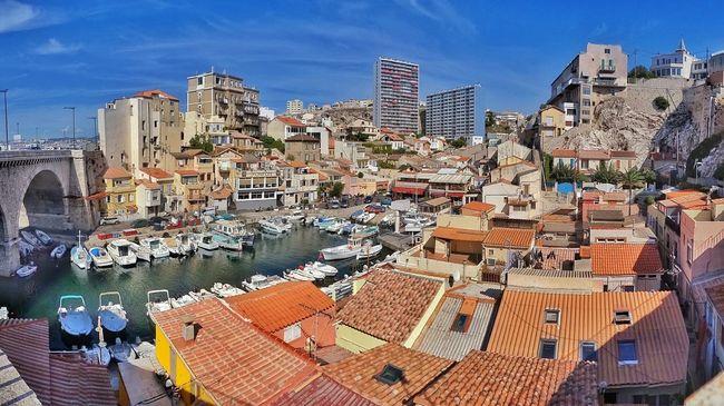 France Vallon Des Auffes Marseille Port De Pêcheur