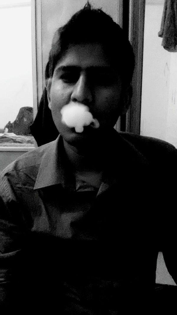 Black And White Photography Smoke Hookah