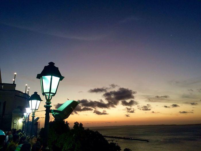 Sunset Enjoying The Sun Salvador Bahia Réveillon 2014