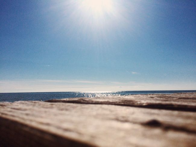 Sea Sunlight Nature Beach Sun Sunbeam Water Horizon Over Water Sky Sunny Tranquility Sand Lens Flare Scenics Beauty In Nature Tranquil Scene Clear Sky No People Outdoors Summer