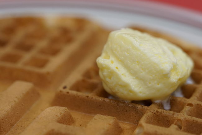 Waffles at the Huddle House. Breakfast Butter Close-up Focus On Foreground Food Food And Drink Food Porn Freshness Huddle House Indulgence Macro Macro Photography Plate Ready-to-eat Restaurant Showcase March Sony A6000 Sweet Food Table Waffle Waffle Time Waffles