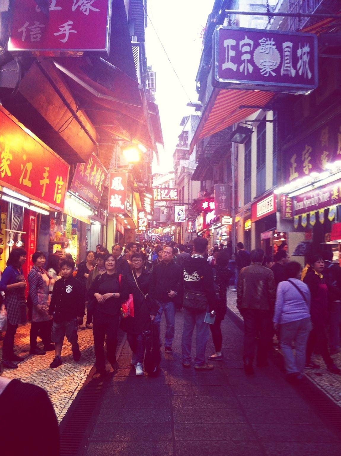Streetphotography Market Macau