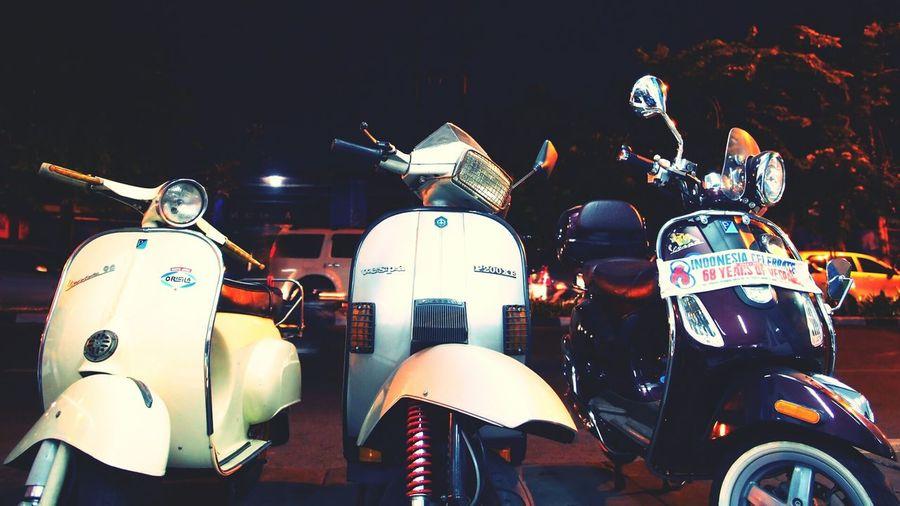 ...the 60s - the 80s and the automatic Vespa Indonesia Vespa LXV Vespa Px Vespa Special