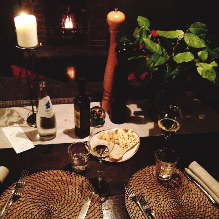 Caminetto Hanging Out Goodnight Beautifulnight Castle Restaurant Dinnerfortwo Cenettaro Romantic