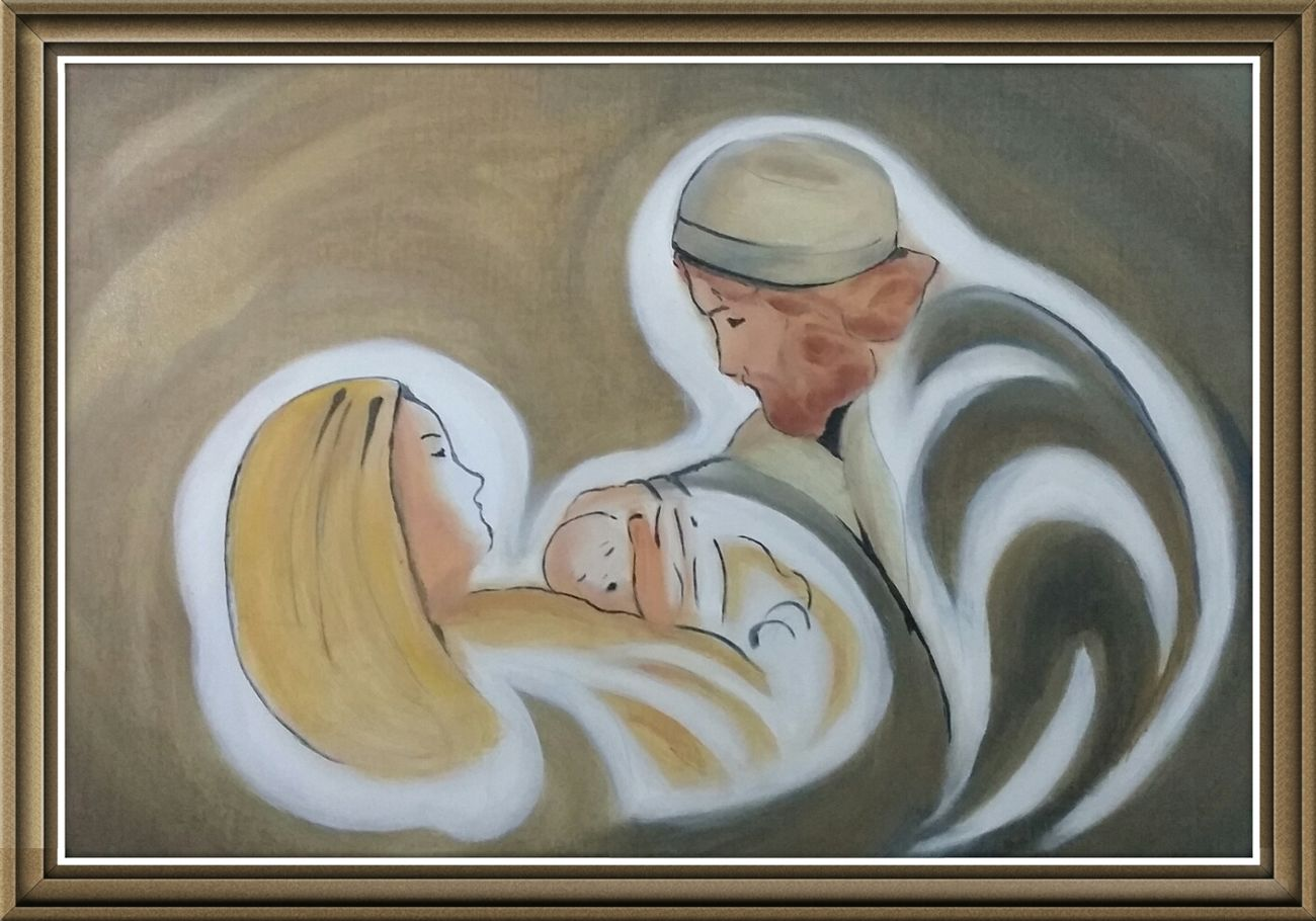 Art Religion Nativity