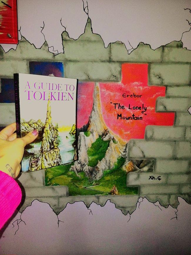 J.J.R Tolkien Erebor Inside My Room