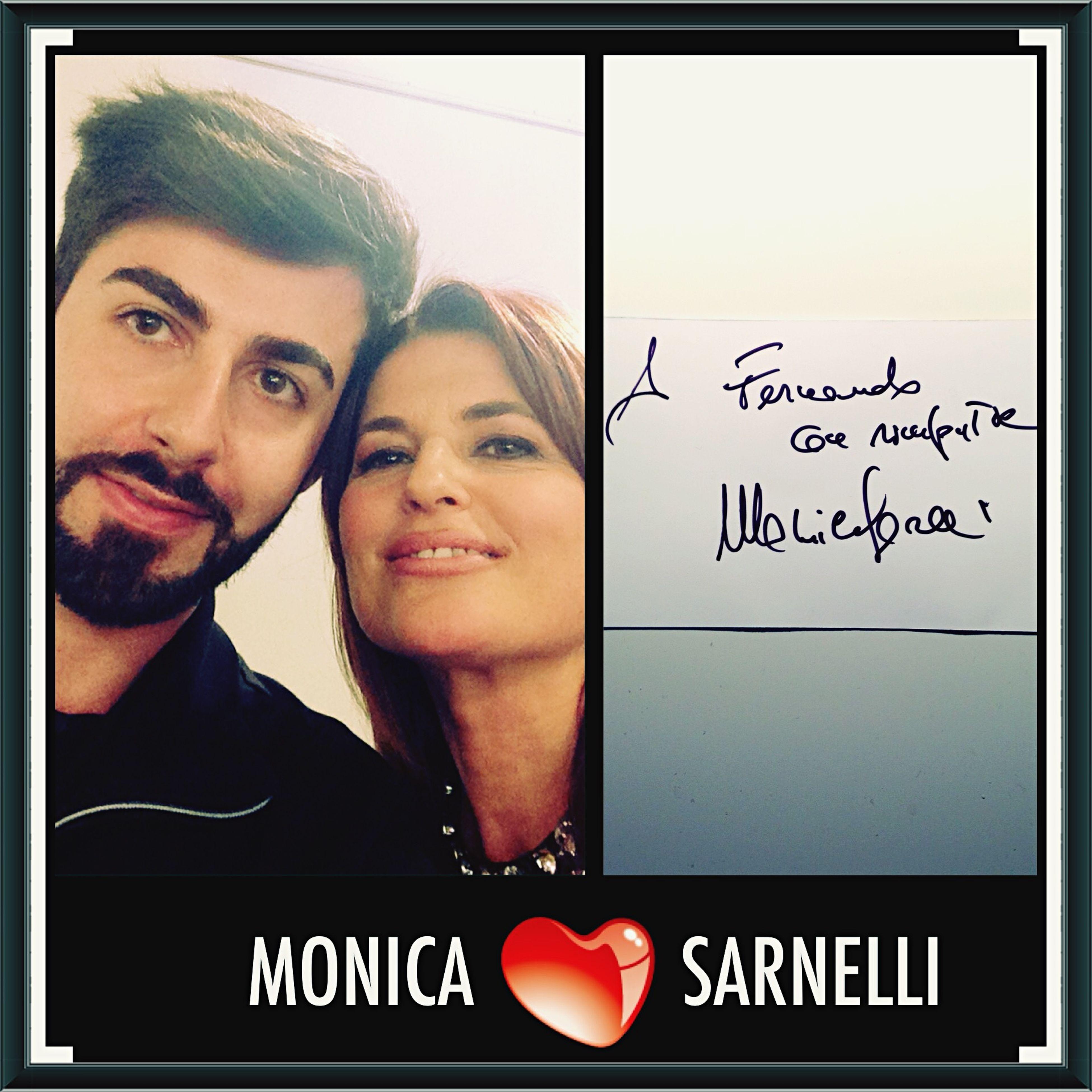 """Addo' staie dinta quale ammore t'annascunne ChestaSera 🌙 ca je vulesse sull'a tte."" 💌 💌 Grazie Monica Sarnelli ❤ ☺️"