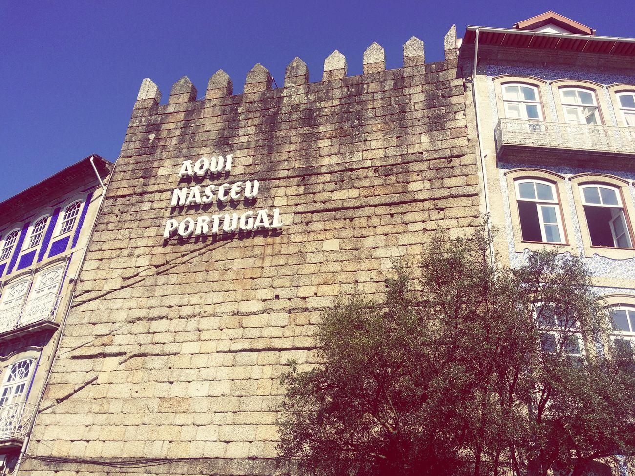 O Berço da Nação. Guimarães Portugal Aqui Nasceu Portugal