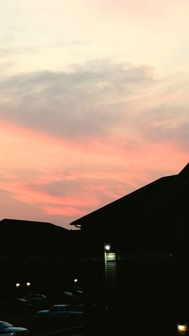 Awesome sunset First Eyeem Photo