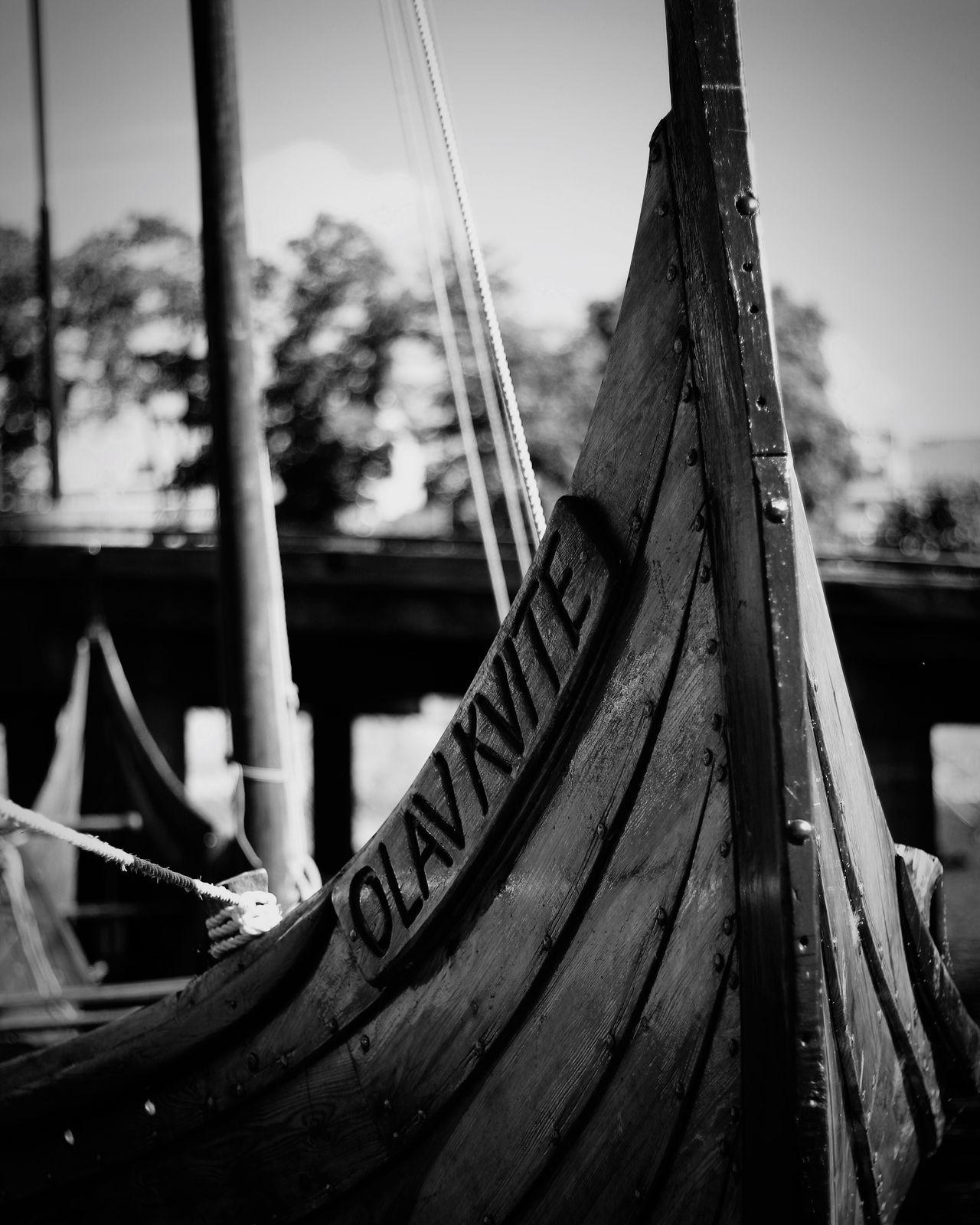 """The Vikings has Entered"" - Boat Outdoors No People Nautical Vessel Mode Of Transport Moored Water Viking Ship Viking Boat Viking Vessel Olav Kvite First Eyeem Photo EyeEmNewHere"