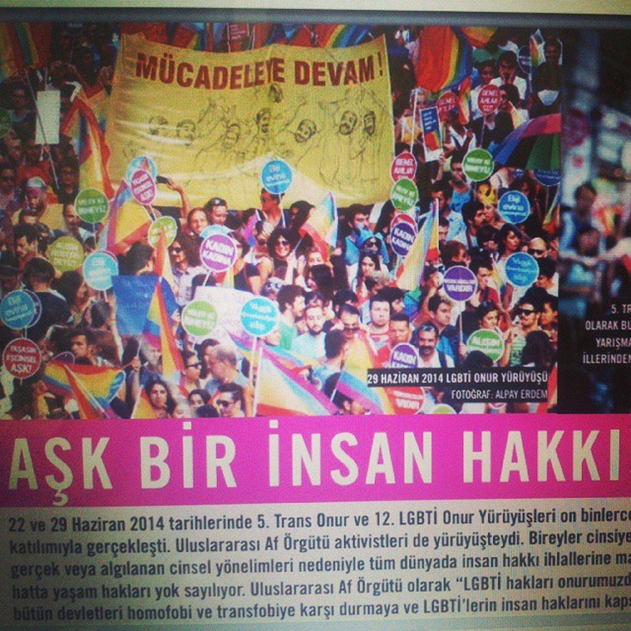 Uluslararası Af Örgütü'nün yeni bülteni yayımlandı. Fotoğrafımla son sayıdayım. http://amnesty.org.tr/uploads/Docs/bulten14-2web686.pdf Amnesty Uluslararasıaförgütü Türkiye Bulten fotoğraf