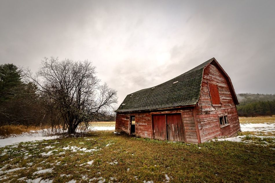 The Barn Bad Condition Roof Architecture Old-fashioned Canon 6D Landscape Building Exterior Decay Decaying Barn Samyang 14㎜ ƒ/2.8G Landscape_photography