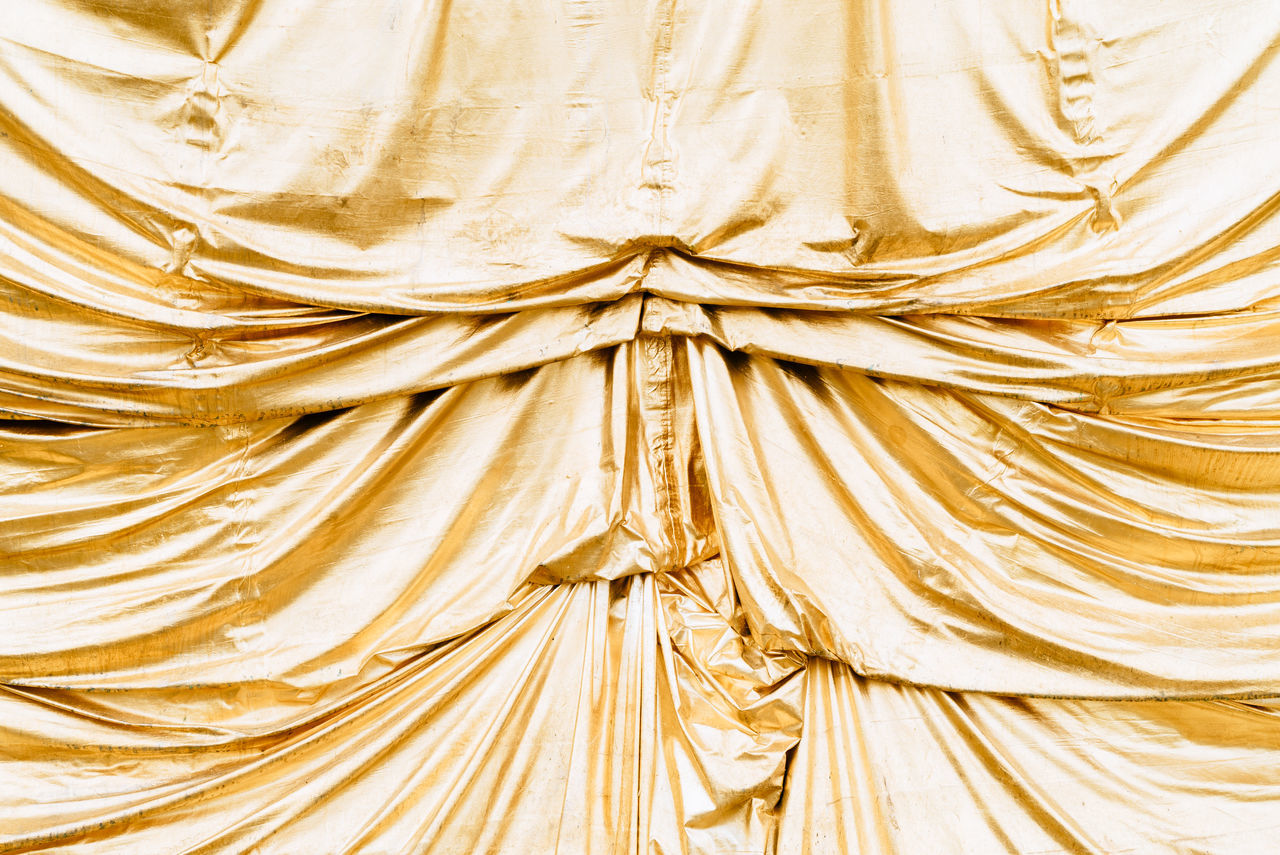 Backgrounds Close-up Full Frame Gold Colored Golden Pattern