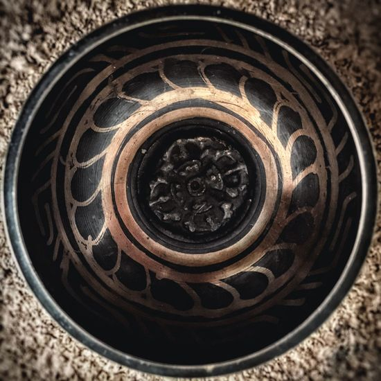 Pattern Pieces Pattern Tibetan  Bowl Solfeggio Inner Peace ThirdEye Chakra  852 Hertz Iphone6s IPhoneography Iphonephotography