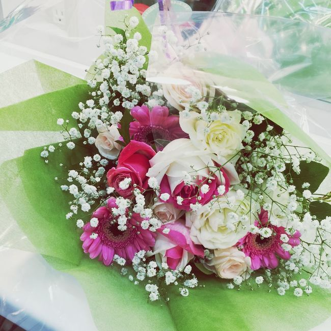 Flower Rosé Japan シャンソン発表会 花束 ほっとする 発表会