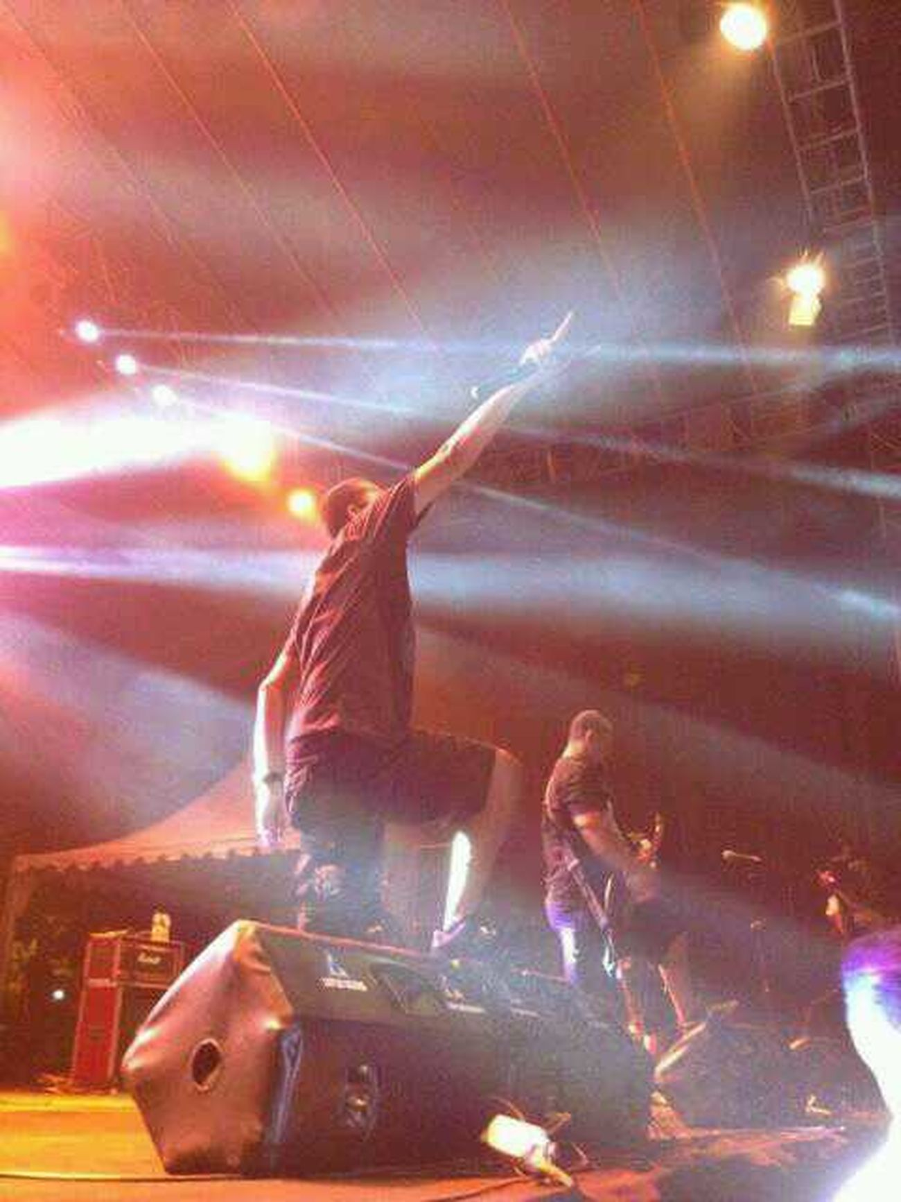 Downforlife on stage Rock in Solo RIS2013 Rockinsolo Rockfest INDONESIA