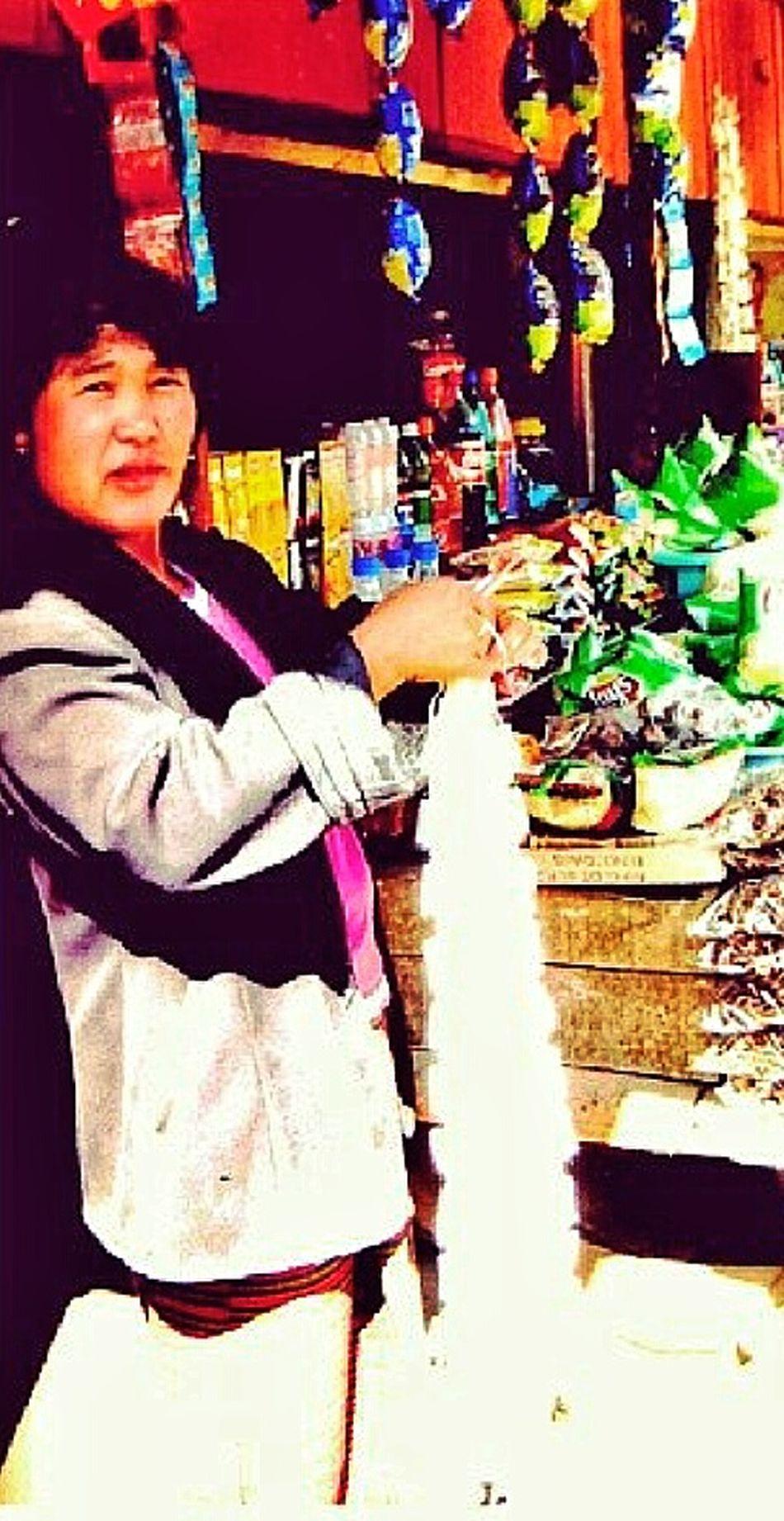 Provision Shop Owner Bhutan Himalayas