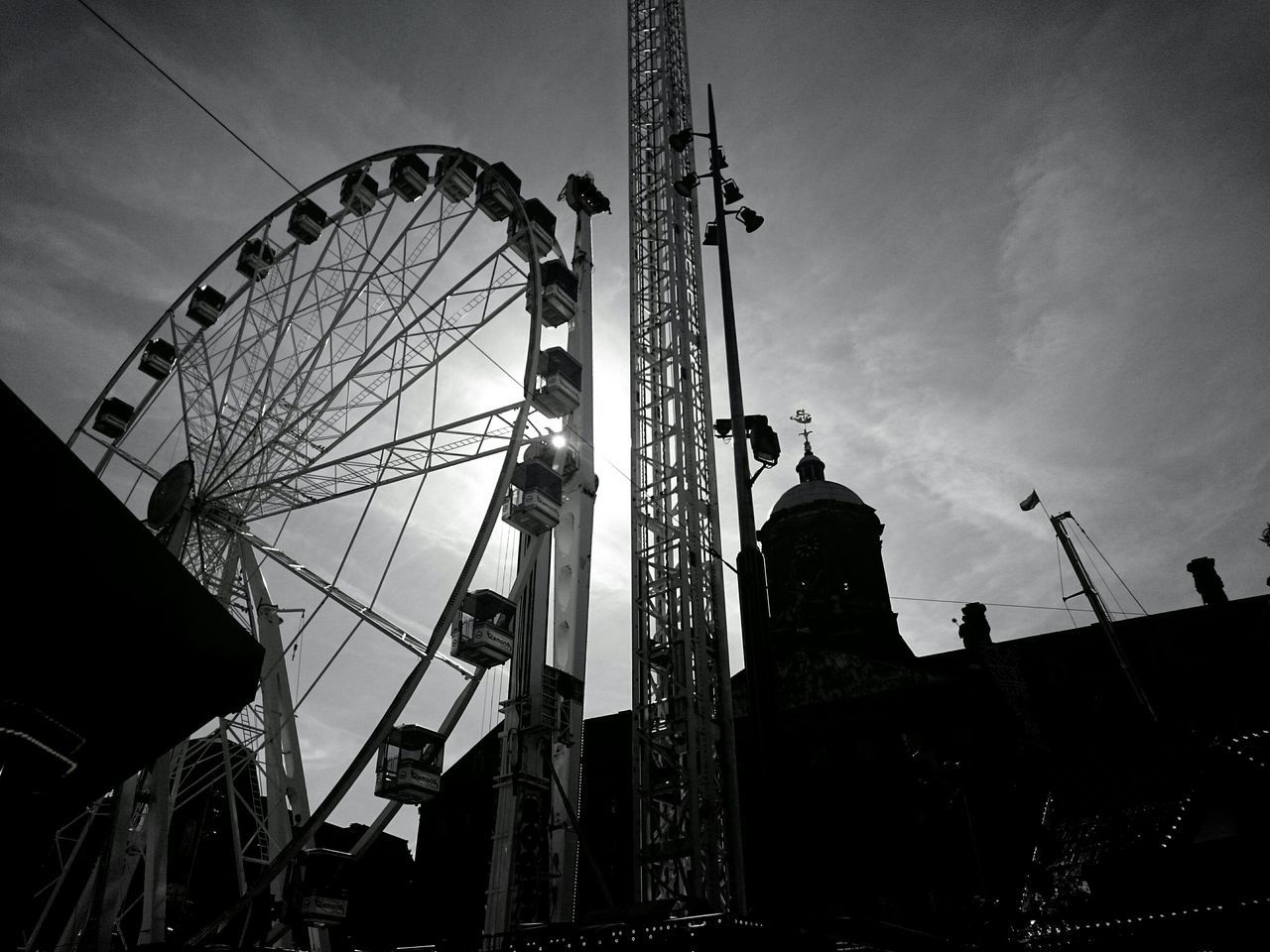 Check me out on Instagram @ Martinezfrost3 © Michael Christian Martinez Travel Photography Travel EyeEm Best Shots EyeEm Best Shots - Black + White Black And White Europe Sony Z3 Sony Xperia Z3 The Changing City Tour Ferrys Wheel Theme Park Mobilephotography My Best Photo 2015