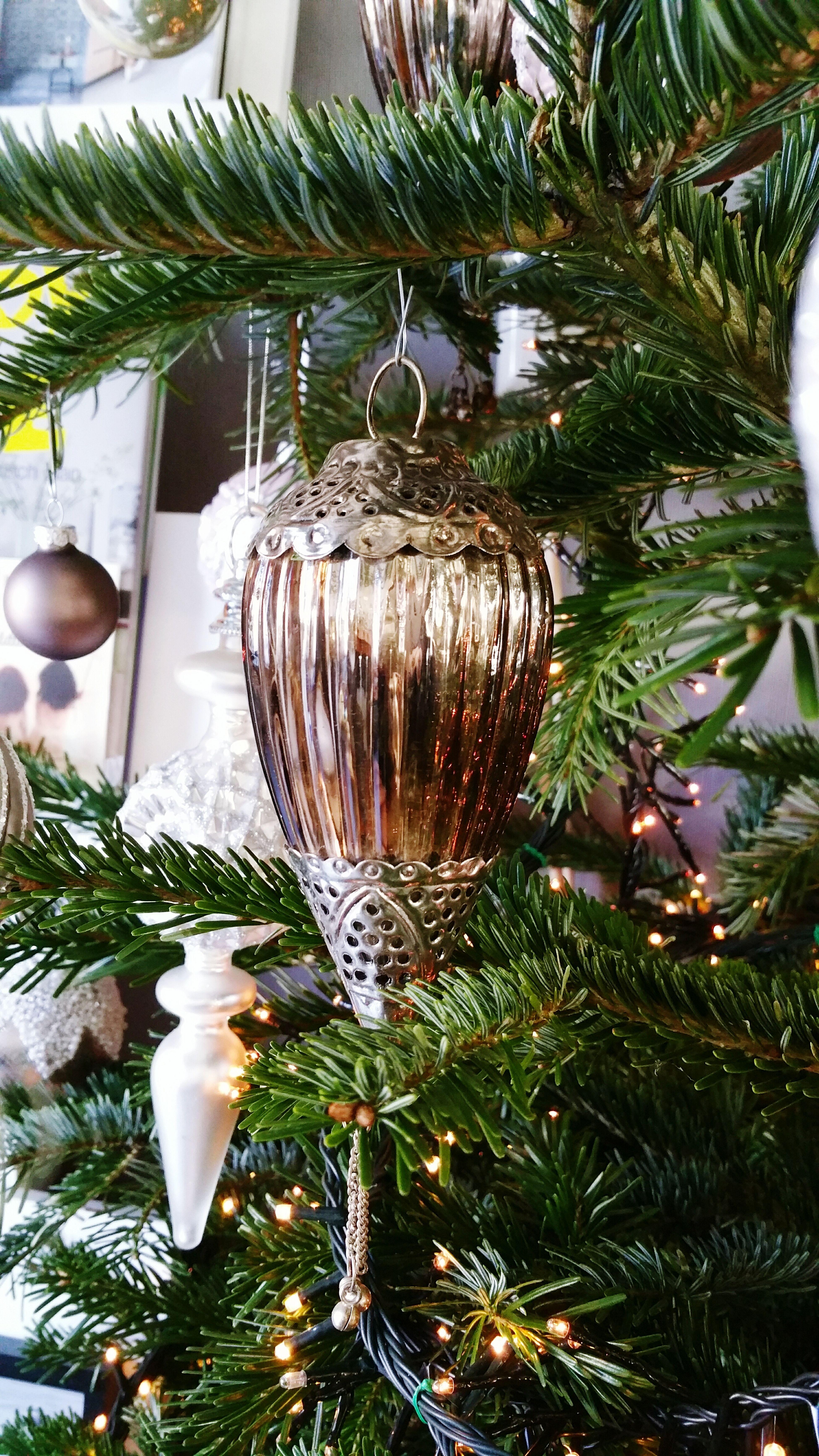 Gisteren heeft mijn manneke op de valreep nog deze mooie kerstballen van PTMD gezien. Een mooie aanvulling op de rest wat we al gekocht hadden. Old Christmas Decorations Silver  Glass Bloemsierkunstterryhecker