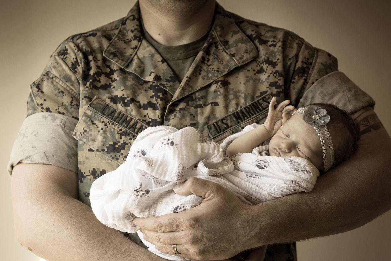 Newborn Baby Newborn Marines Corps USMC