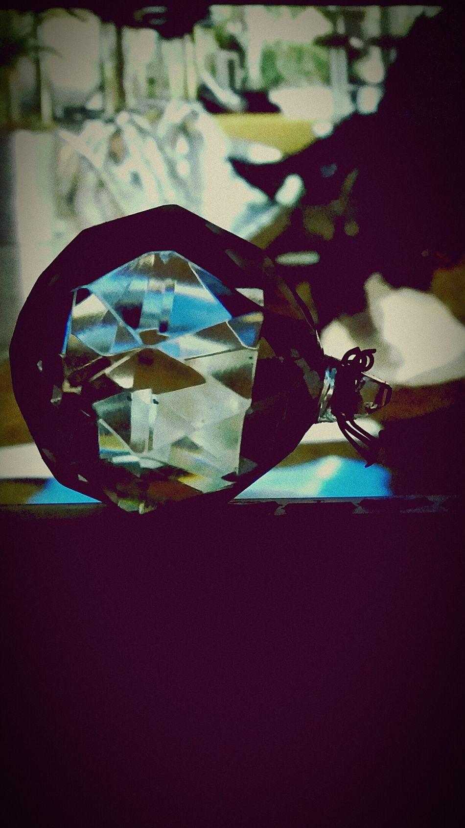 Absence Patience Science Fiction Scifi Crystal Ball Crystals Crystalball Colors Crystal Glass Photo Photography Ball Crystalline Long Goodbye Long Goodbye Long Goodbye