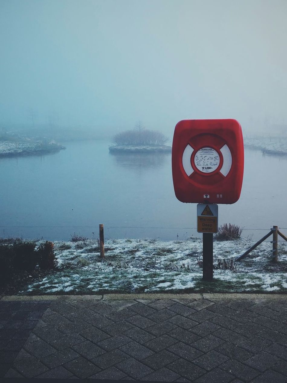 Beautiful stock photos of red, Cold Temperature, Day, Depth Marker, Fog